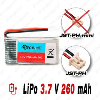 BATERÍA Eachine LiPo 3.7V 260mAh 30C DRONE Eachine
