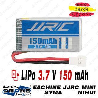 BATERÍA LiPo JJRC 3.7V 150mAh Conector 51005 RC Dr