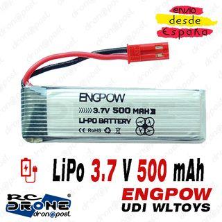 Batería EngPow LiPo 3.7V 500mAh Drone UDI U818A U8