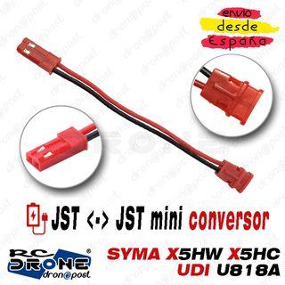 Adaptador JST Macho JST mini Hembra Battery RC