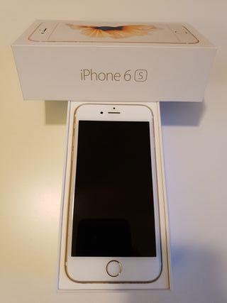 Iphone 6s gold 64 gb LIBRE