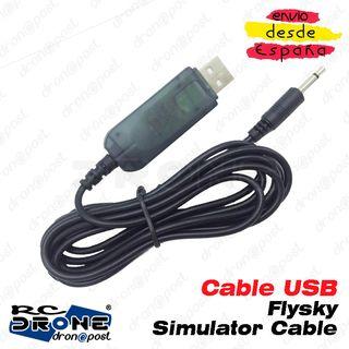 Cable USB Flysky Simulator Cable para Flysky FS-GT