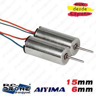 Motor AIYIMA 615 15mm 6mm Magnetic Mini Voltaje