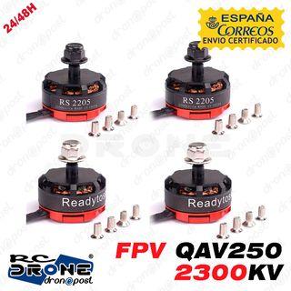 Motores Readytosky RS2205 2300KV. Sin Escobillas