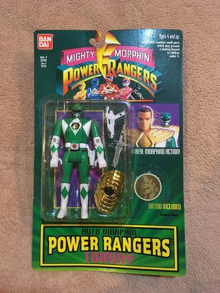 Power Ranger 1994 cabeza intercambiable