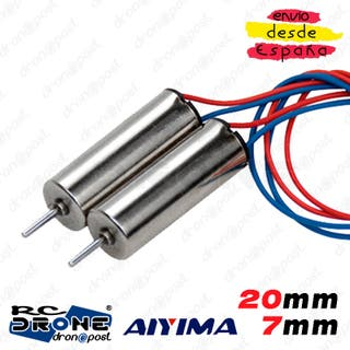 Motor AIYIMA 720 20mm 7mm Magnetic Mini Voltaje RC