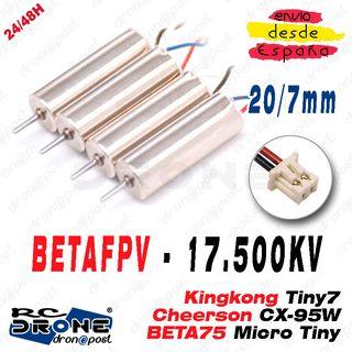 Drone Motor BETAFPV 17500KV 20/7 BETA75 Whoop RC