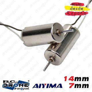 Motor AIYIMA 714 14mm 7mm Magnetic Mini Voltaje RC