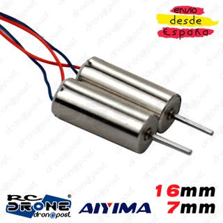 Motor AIYIMA 716 16mm 7mm Magnetic Mini Voltaje RC