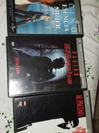 colección Al Pacino 3 películas DVD