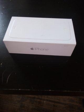 caja vacia de iPhone 6 nueva