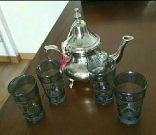 Tetera original de Marruecos