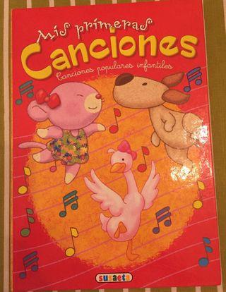 Libro infantil canciones infantiles