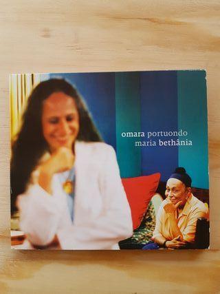 cd MARIA BETHÂNIA + OMARA PORTUONDO
