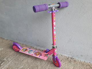 Patinete plegable de 2 ruedas Paw Patrol para niño