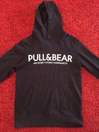 Sudadera con capucha Pull&Bear talla M