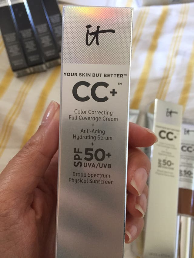 CC + cream SPF 50 It cosmetics