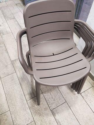 sillas de bar o terraza