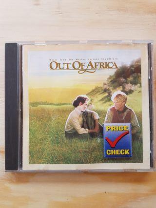 cd B.S.O. MEMORIAS DE ÁFRICA
