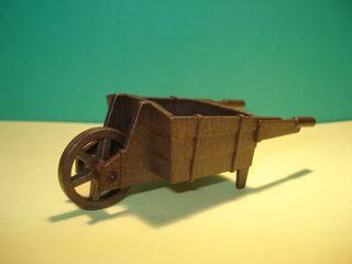 Playmobil carretilla de madera