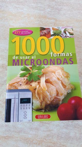 Libro 1000 formas de usar el microondas.