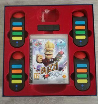 Buzz y mandos inalámbricos PlayStation 3
