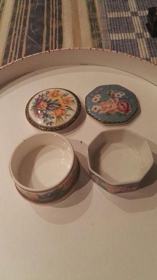 cajitas porcelana