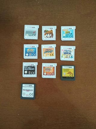 Juegos 3ds, Wii U, y DS