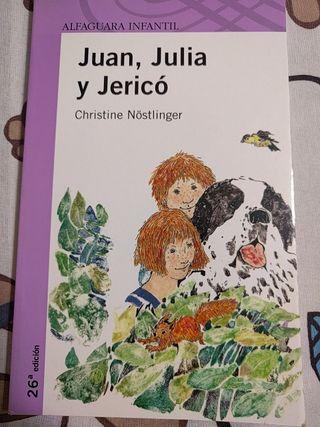 Juan, Juliay Jericó libro