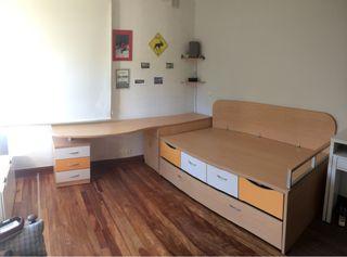Dormitorio juvenil de segunda mano por 350 en donostia san sebasti n en wallapop - Muebles martin donostia ...