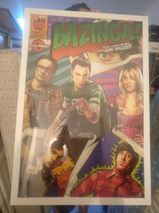 póster big bang Theron + marco