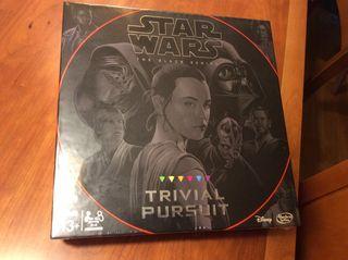 STAR WARS TRIVIAL PURSUIT ,EN ESPAÑOL ___