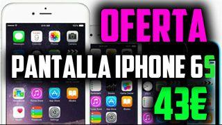 Cambio pantalla iPhone 6S 43€ en 30 mins
