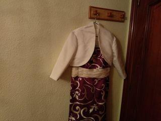 Vestido largo fiesta señora talla 50