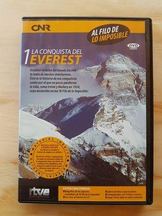 dvd documental EVEREST