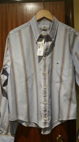 camisa Lacost sin estrenar talla 42