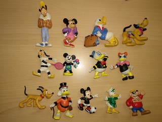 Figuras Disney comics spain bully PVC infantil EGB