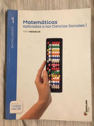 Libro de matemáticas CCSS 1° de Bachillerato