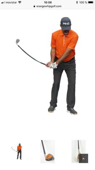 Palo golf entrenamiento juego corto
