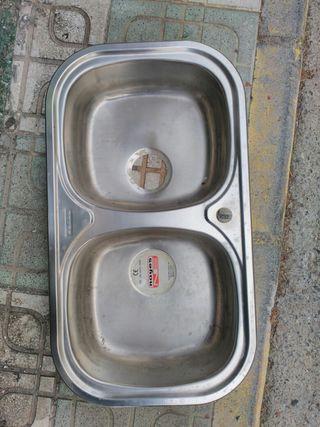 Fregadero de aluminio