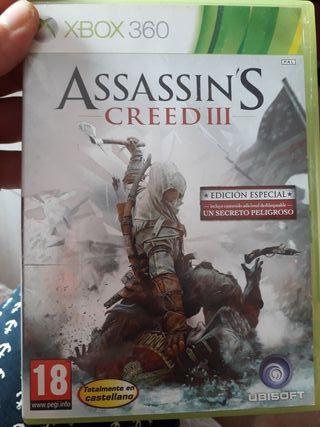 Juego Assassin's Creed ||| xbox 360