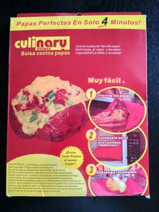 Bolsa para cocinar patatas al microondas