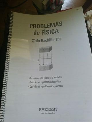 libro de problemas física 2° de bachillerato