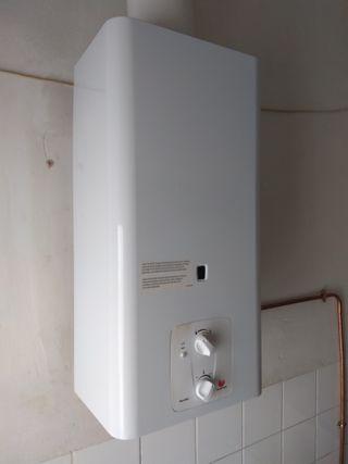 Calentador de gas butano de segunda mano en wallapop for Caldera de butano