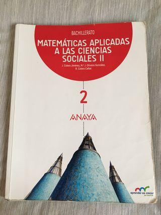 Libro de matemáticas CCSS 2° de Bachillerato