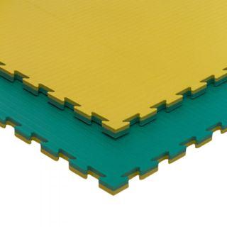 Tatami 25mm densidad 100 kg/m3 amarillo/verde