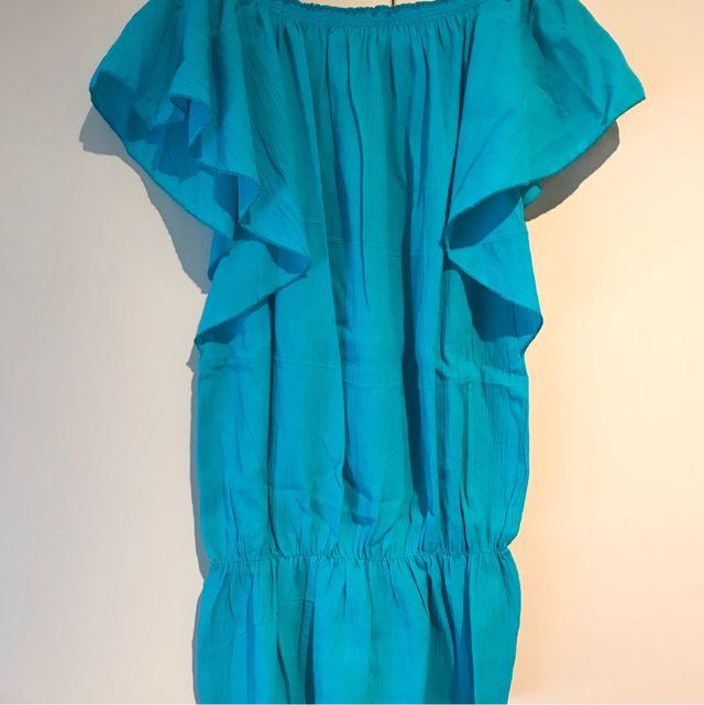 Vestido Azul Turquesa De Segunda Mano Por 20 En Barcelona