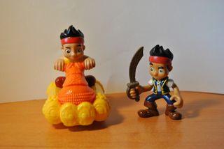 Figuras Jake y los piratas Disney Pvc