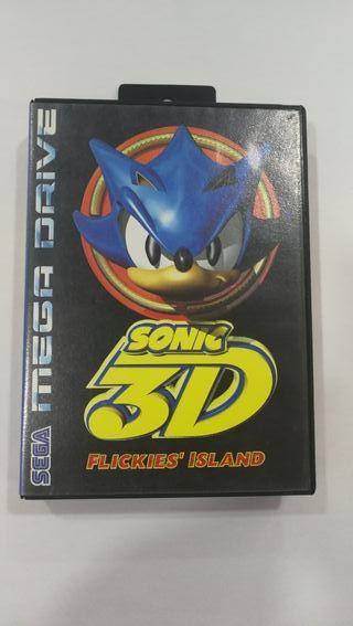 Juego Sonic 3D mega drive