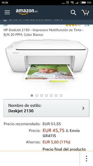 impresora hp 2130